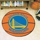 "NBA-Golden State Warriors 29"" Round Basketball Rug"