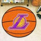 "NBA-Los Angeles Lakers 29"" Round Basketball Rug"