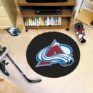 "NHL-Colorado Avalanche 29"" Round Hockey Puck Rug"