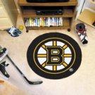 "NHL-Boston Bruins 29"" Round Hockey Puck Rug"