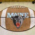 "University of Maine 22""x35"" Football Shape Area Rug"