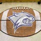 "University of New Hampshire 22""x35"" Football Shape Area Rug"
