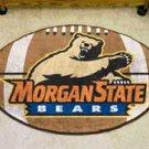"Morgan State University Bears 22""x35"" Football Shape Area Rug"