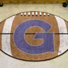 "Georgetown University 22""x35"" Football Shape Area Rug"