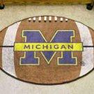 "University of Michigan 22""x35"" Football Shape Area Rug"
