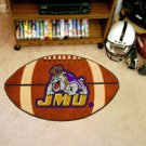 "James Madison University JMU 22""x35"" Football Shape Area Rug"