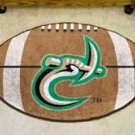 "UNC University of North Carolina Charlotte 22""x35"" Football Shape Area Rug"