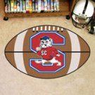 "South Carolina State University  22""x35"" Football Shape Area Rug"