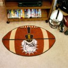 "The Citadel  22""x35"" Football Shape Area Rug"