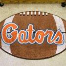 "University of Florida Gators Script  22""x35"" Football Shape Area Rug"