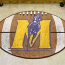 "Murray State University Racers 22""x35"" Football Shape Area Rug"