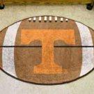 """University of Tennessee  22""""x35"""" Football Shape Area Rug"""