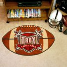 "Troy State University Trojans 22""x35"" Football Shape Area Rug"