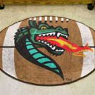 "University of Alabama at Birmingham UAB Blazers 22""x35"" Football Shape Area Rug"
