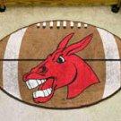 "University of Central Missouri 22""x35"" Football Shape Area Rug"