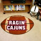"Louisiana Lafayette Ragin Cajuns 22""x35"" Football Shape Area Rug"