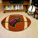 """University of Louisiana Monroe ULM 22""""x35"""" Football Shape Area Rug"""