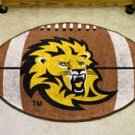 "Southeastern Louisiana Lions 22""x35"" Football Shape Area Rug"