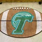 "Tulane University Green Wave 22""x35"" Football Shape Area Rug"