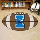 """Texas A&M University Corpus Christi 22""""x35"""" Football Shape Area Rug"""