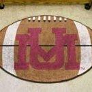 "University of Montana Grizzlies 22""x35"" Football Shape Area Rug"