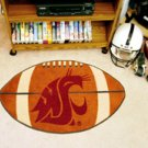 "Washington State University 22""x35"" Football Shape Area Rug"
