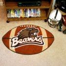 "Oregon State University Beavers 22""x35"" Football Shape Area Rug"