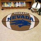 "University of Nevada 22""x35"" Football Shape Area Rug"