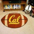 "University of California Berkely Cal 22""x35"" Football Shape Area Rug"