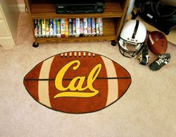 "University of California Berkely Cal 22""x35"" Football Shape Area Rug"
