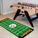 """NFL-Pittsburgh Steelers 29.5""""x72"""" Large Football Field Rug Floor Runner"""