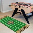 "NFL-New Orleans Saints 29.5""x72"" Large Rug Floor Runner"