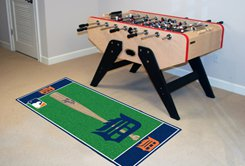 "MLB-Detroit Tigers 29.5""x72"" Large Rug Floor Runner"