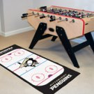 "NHL-Pittsburgh Penguins 29.5""x72"" Large Runner Rug"
