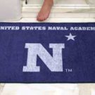 """US Naval Academy Navy 34""""x44.5"""" All Star Collegiate Carpeted Mat"""