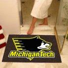 "Michigan Tech University 34""x44.5"" All Star Collegiate Carpeted Mat"