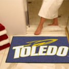 "University of Toledo 34""x44.5"" All Star Collegiate Carpeted Mat"