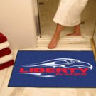 "Liberty University Flames 34""x44.5"" All Star Collegiate Carpeted Mat"