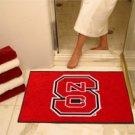 """North Carolina State 34""""x44.5"""" All Star Collegiate Carpeted Mat"""