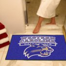 "West Carolina University Catamounts 34""x44.5"" All Star Collegiate Carpeted Mat"