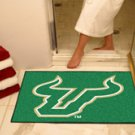 "University of South Florida 34""x44.5"" All Star Collegiate Carpeted Mat"