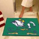 "Notre Dame University Fighting Irish 34""x44.5"" All Star Collegiate Carpeted Mat"