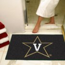 "Vanderbilt University 34""x44.5"" All Star Collegiate Carpeted Mat"