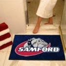 """Samford University 34""""x44.5"""" All Star Collegiate Carpeted Mat"""