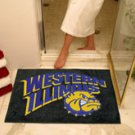 "Western Illinois University 34""x44.5"" All Star Collegiate Carpeted Mat"