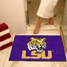 """Louisiana State University LSU 34""""x44.5"""" All Star Collegiate Carpeted Mat"""