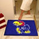 "University of Kansas KU 34""x44.5"" All Star Collegiate Carpeted Mat"
