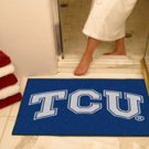 "Texas Christian University TCU 34""x44.5"" All Star Collegiate Carpeted Mat"