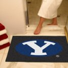 """Brigham Young University BYU 34""""x44.5"""" All Star Collegiate Carpeted Mat"""