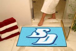 """University of San Diego SD 34""""x44.5"""" All Star Collegiate Carpeted Mat"""